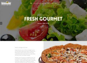 Fresh Gourmet Minsky's Pizza event